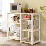 Mueble auxiliar cocina blanco