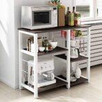 Mueble microondas y horno