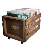 Mueble para discos de vinilo
