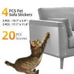 Protector sofa gatos arañazo