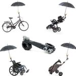 Sujeta paraguas silla bebe