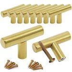 Tiradores armario dorado