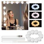 Tocador con luces maquillaje