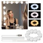 Tocador maquillaje con luces