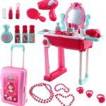 Tocador maquillaje para niñas